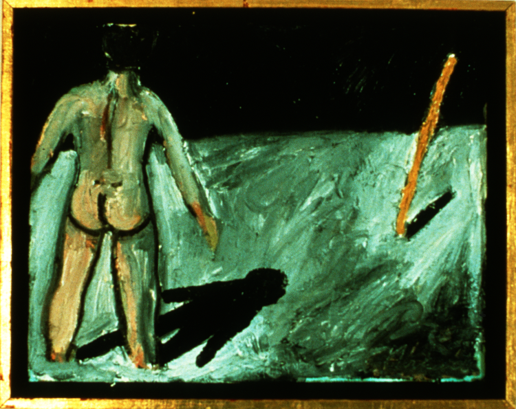 Man with a Stick 1987